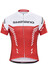 Shimano Print - Maillot manches courtes - rouge/blanc